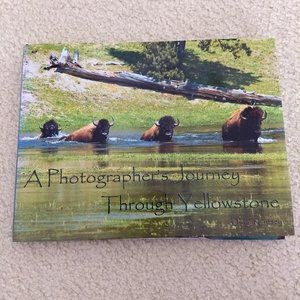 Yellowstone national park photography book